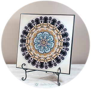 Personalized Name Mandala