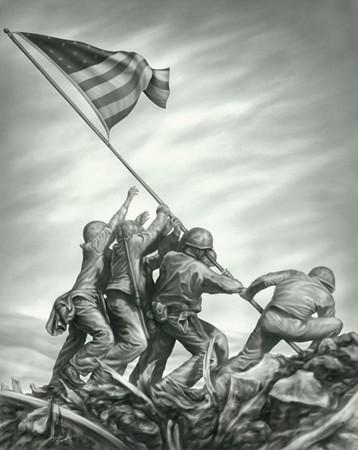 Tribute to Iwo Jima