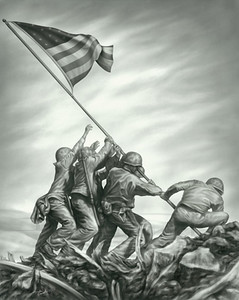 Tribute to Iwo Jima