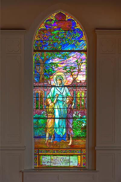Restored Tiffany Window