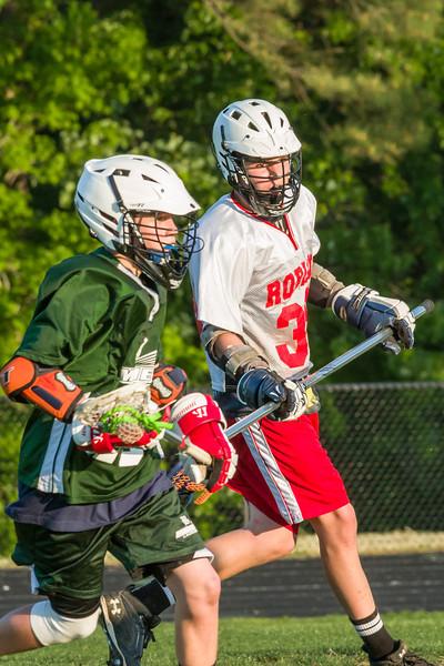3849 . Virginia Lacrosse, Robious vs Benedictine, Middle Schools. 5/9/2013, Abby Field, near Richmond