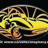This is the back side of all the Corvette Conspiracy business cards.