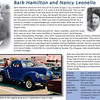 This is the history of Barb Hamilton and Nancy Leonello and their drag racing days.