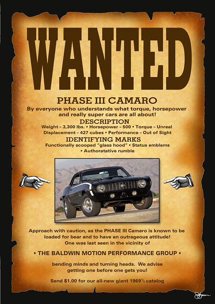 Great story here!  Roger and Vicki Boris from Columbia Station have plans to build this iconic Camaro.  Roger said he has the heart (a 427 Chevy block) ready to go... all he needs is a donor body.  Simple...  This poster was all he needed.  It was something he saw for a couple of years at the local Chevy dealer when they were selling (the car). Some incentive is strong!