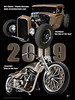 2009 was a great year for Bill and Sandy Steele of Steele Auto Body.  They got Bike of the Year from Easyrider Magazine and also Hot Rod of the Year from Goodguys.  Congrats!!!  This is the poster that will be available in limited quantities (250) at shows during 2010.  What a year!