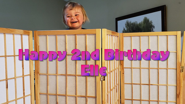 Elle Turns 2