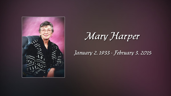 Mary Harper