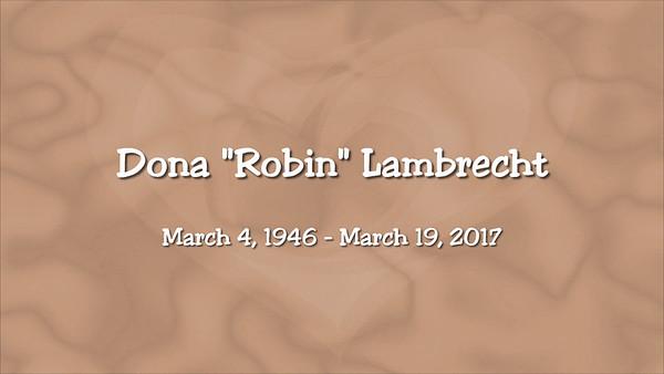 Robin Lambrecht Memorial