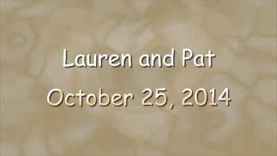 Lauren and Pat