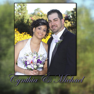 Michael and Cynthia Album Proofs