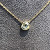 1.02ct Antique Heart Diamond Bezel Pendant 13