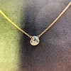 1.02ct Antique Heart Diamond Bezel Pendant 6