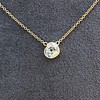 1.02ct Antique Heart Diamond Bezel Pendant 4
