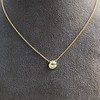 1.02ct Antique Heart Diamond Bezel Pendant 9