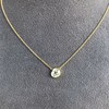 1.02ct Antique Heart Diamond Bezel Pendant 12