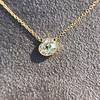 1.02ct Antique Heart Diamond Bezel Pendant 2