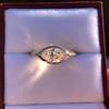 1.02ct Marquise Cut Diamond Ring GIA E VS2 17
