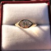 1.02ct Marquise Cut Diamond Ring GIA E VS2 9