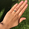 1.02ct Marquise Cut Diamond Ring GIA E VS2 19