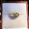 1.02ct Marquise Cut Diamond Ring GIA E VS2 10
