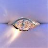 1.02ct Marquise Cut Diamond Ring GIA E VS2 5