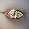 1.02ct Marquise Cut Diamond Ring GIA E VS2 4