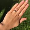 1.02ct Marquise Cut Diamond Ring GIA E VS2 18