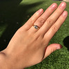 1.02ct Marquise Cut Diamond Ring GIA E VS2 21