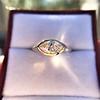 1.02ct Marquise Cut Diamond Ring GIA E VS2 16