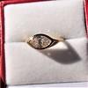 1.02ct Marquise Cut Diamond Ring GIA E VS2 11