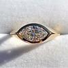 1.02ct Marquise Cut Diamond Ring GIA E VS2 6