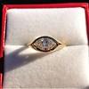 1.02ct Marquise Cut Diamond Ring GIA E VS2 14
