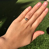1.02ct Marquise Cut Diamond Ring GIA E VS2 3