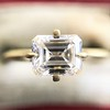 1.08ct Vintage Emerald Cut Diamond