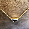 1.32ct Vintage Sapphire Bezel Necklace 8