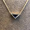 1.32ct Vintage Sapphire Bezel Necklace 5