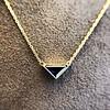 1.32ct Vintage Sapphire Bezel Necklace 1
