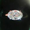 1.64ct Antique Oval Cut Diamond Solitaire GIA M VVS2 4