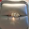 1.64ct Antique Oval Cut Diamond Solitaire GIA M VVS2 9