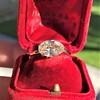 1.64ct Antique Oval Cut Diamond Solitaire GIA M VVS2 14