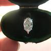 1.64ct Antique Oval Cut Diamond Solitaire GIA M VVS2 10