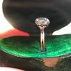 1.64ct Antique Oval Cut Diamond Solitaire GIA M VVS2 12