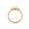 1.64ctw Tycoon Cut Diamond Trilogy Ring, GIA G VVS1 3