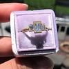 1.64ctw Tycoon Cut Diamond Trilogy Ring, GIA G VVS1 5