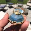 1.64ctw Tycoon Cut Diamond Trilogy Ring, GIA G VVS1 4