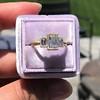 1.64ctw Tycoon Cut Diamond Trilogy Ring, GIA G VVS1 6