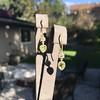 1.69ctw Fancy Yellow Pear Shaped Diamond Ear Pendants 5