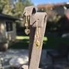1.69ctw Fancy Yellow Pear Shaped Diamond Ear Pendants 1