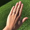 .44ct Antique Marquise Cut Diamond Bezel Ring GIA D 5
