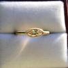 .44ct Antique Marquise Cut Diamond Bezel Ring GIA D 11